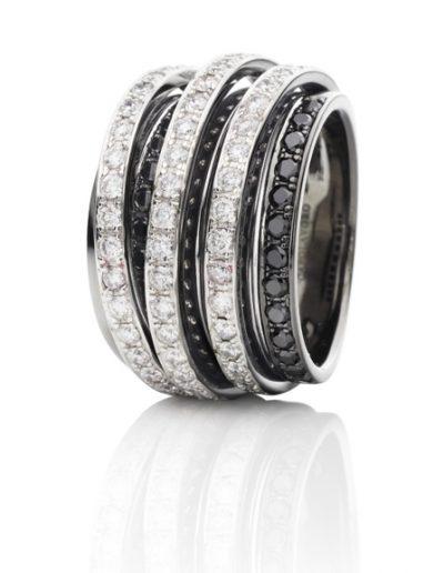 Ring schwarz Capolavoro