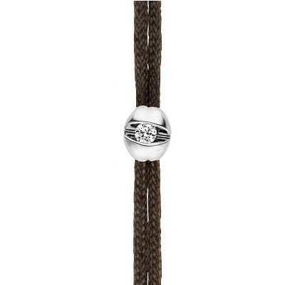 Schaffrath Armband Colortaire braun